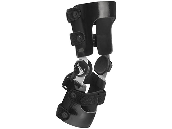 Air Lite custom graphite ligament knee brace