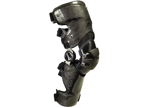 Motocross Series custom graphite ligament knee brace